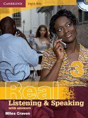 REAL LISTENING & SPEAKING 3 KEY/CD