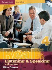 REAL LISTENIG  & SPEAKING 4 KEY/CD