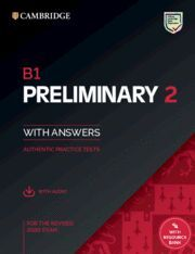 B1 PRELIMINARY 2. STUDENT'S BOOK WITH ANSWERS WITH AUDIO WITH RESOURCE BANK
