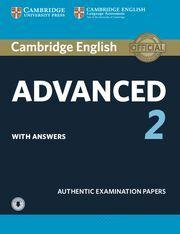 CAMBRIDGE ADVANCED  2 + SOLUCIONES+ AUDIO DESCARGABLE