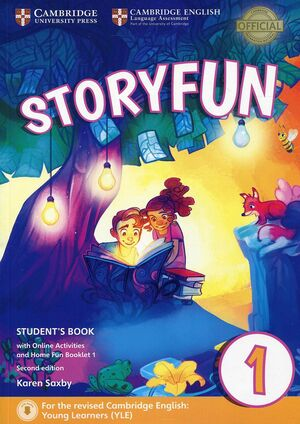 STORYFUN FOR STARTERS 1 2ED SB/ONLINE ACT & HOME F