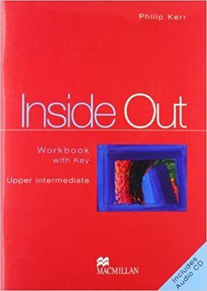 INSIDE OUT UPPER INTERMEDIATE WORKBOOK WITH KEY + CD