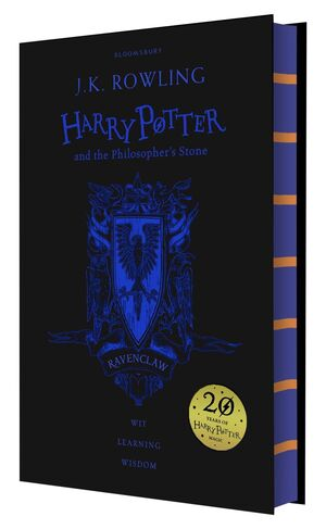 HARRY POTTER AND THE PHILOSOPHER'S STONE (RAVENCLAW EDITION, 20TH ANNIVERSARY EDITION)