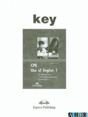 CPE USE OF ENGLISH 1 KEY