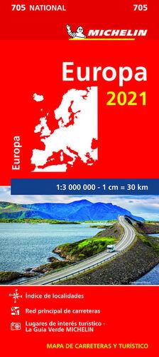 705  EUROPA 2021 (1:3.000.000)