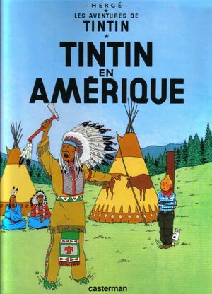 TINTIN EN AMERIQUE (FRANCES)