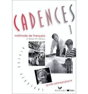 CADENCES 1 METHODE DE FANCÇAIS GUIDE PEDAGOTIQUE