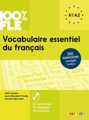 VOCABULAIRE ESSENTIEL A1/A2 ALUM+CD