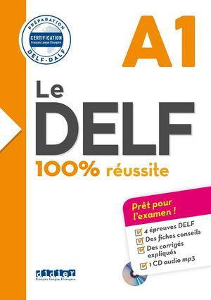 DELF 100  REUSSITE A1 LIVRE+CD