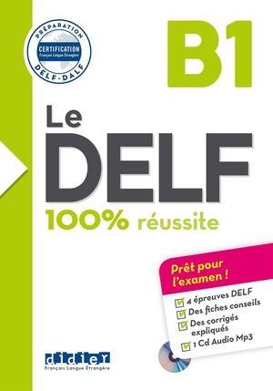 100 REUSSITE  DELF B1 LIVRE+CD