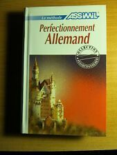 PERFECTIONNEMENT ALLEMAND. ASSIMIL (LIBRO)