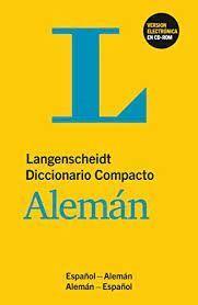 DICCIONARIO COMPACTO ESPAÑOL;ALEMAN+CD