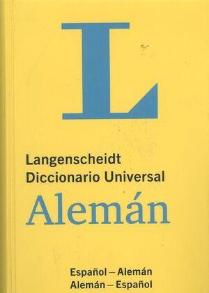 DICCIONARIO UNIVERSAL ALEMAN/ESPAÑOL (LANGENSCHEIDT)