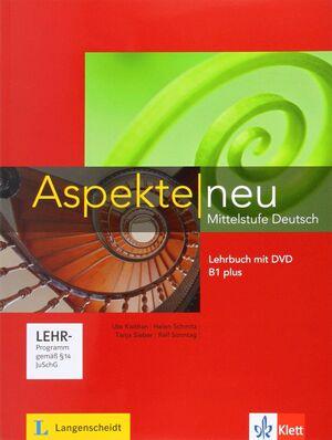 ASPEKTE NEU B1+, LIBRO DEL ALUMNO + DVD