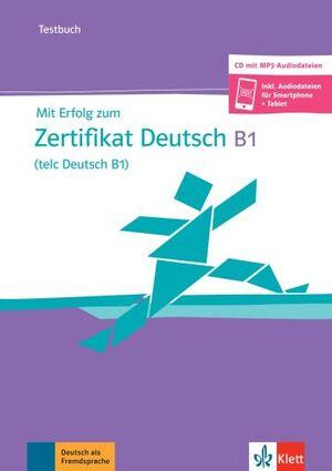 MIT ERFOLG TELC B1 TEST+CD NEU
