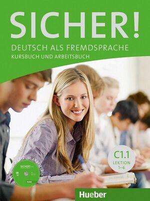 SICHER C1.1 KURSBBUCH UND ARBEITSBUCH+CD (AL./EJ.+CD)