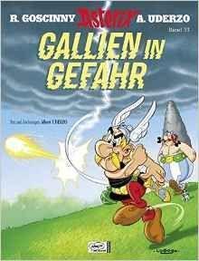 ASTERIX GALLIEN IN GEFAHR (ALEMÁN)