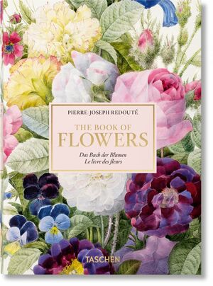 REDOUTE, THE BOOK OF FLOWERS- ESP, 40 ANIV.