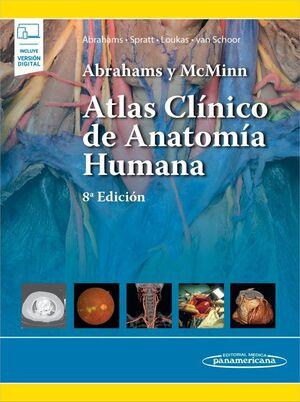 ABRAHAMS Y MCMINN. ATLAS CLÍNICO DE ANATOMÍA HUMANA (INCLUYE VERSIÓN DIGITAL)