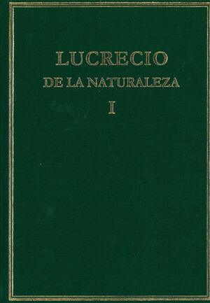 DE LA NATURALEZA. VOL. I. (LIBROS I-III)