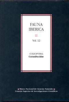 FAUNA IBÉRICA. VOL. 12. COLEOPTERA: CERAMBYCIDAE