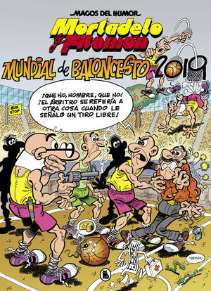 MUNDIAL BALONCESTO 2019. MORTADELO Y FILEMON