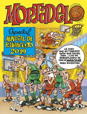 ESPECIAL MUNDIAL BALONCESTO 2019. MORTADELO