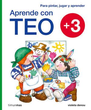 APRENDE CON TEO + 3 AÑOS