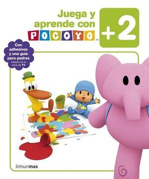 JUEGA Y APRENDE CON POCOYO (+ 2 AÑOS) LIBRO DE ACTIVIDADES