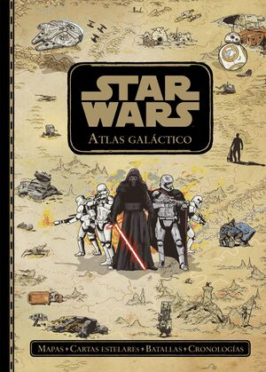 STAR WARS. ATLAS GALACTICO
