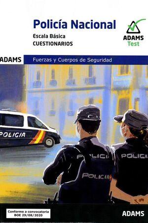 CUESTIONARIOS POLICIA NACIONAL ESCALA BASICA