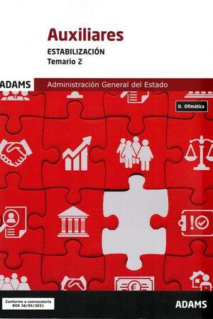 AUXILIARES DE ESTADO (ESTABILIZACION) - TEMARIO 2