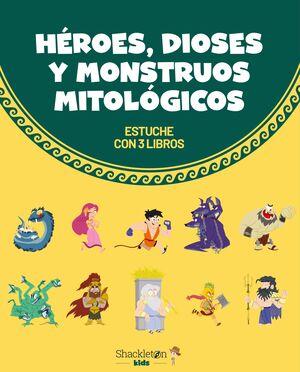 HEROES, DIOSES Y MONSTRUOS MITOLOGICOS (ESTUCHE 3T)