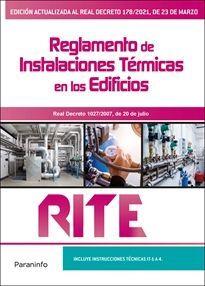 REGLAMENTO INSTALACIONES TERMICAS EDIFICIOS RITE 8ªEDICION