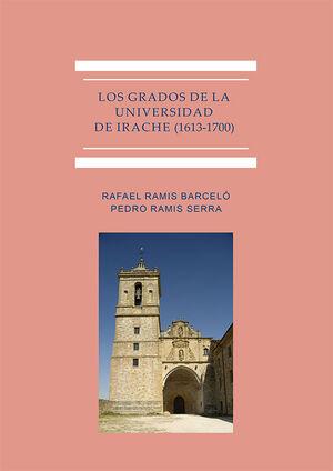 GRADOS DE LA UNIVERSIDAD DE IRACHE (1613-1700)