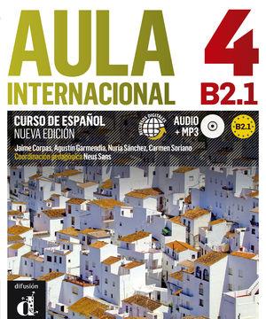 AULA INTERNACIONAL 4. NUEVA EDICIÓN (B2.1). LIBRO DEL ALUMNO + MP3