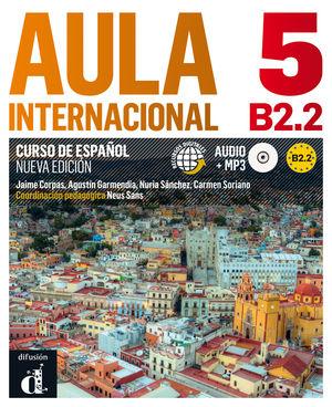 AULA INTERNACIONAL 5. NUEVA EDICIÓN (B2.2). LIBRO DEL ALUMNO + MP3