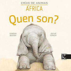 QUEN SON? CRÍAS DE ANIMAIS - ÁFRICA