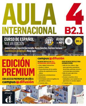 AULA INTERNACIONAL 4, CURSO ESPAÑOL B2.1 (EDICIÓN PREMIUM)