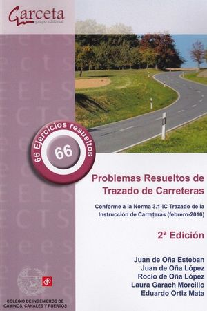 PROBLEMAS RESUELTOS DE TRAZADO DE CARRETERAS