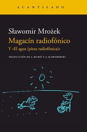MAGACÍN RADIOFÓNICO Y EL AGUA (PIEZA RADIOFÓNICA)