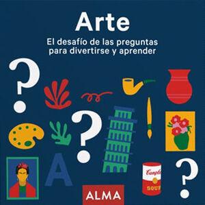 ARTE EL DESAFÍO DE LAS PREGUNTAS PARA DIVERTIRSE Y APRENDER