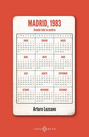 MADRID, 1983. CUANDO TODO SE ACELERA