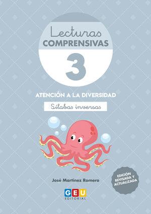 LECTURAS COMPRENSIVAS 3, SÍLABAS INVERSAS