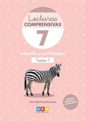 LECTURAS COMPRENSIVAS 7 .TEXTOS 1