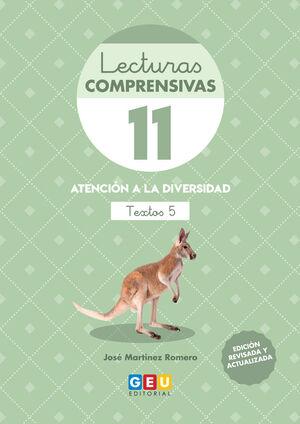 LECTURAS COMPRENSIVAS 11. TEXTOS 5