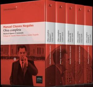 OBRA COMPLETA MANUEL CHAVES NOGALES