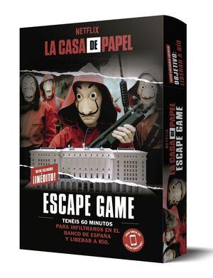 LA CASA DE PAPEL. ESCAPE GAME. OBJETIVO: LIBERAR A RÍO