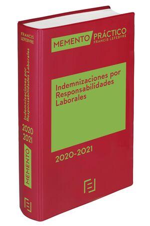 MEMENTO INDEMNIZACIONES POR RESPONSABILIDADES LABORALES 2020-2021