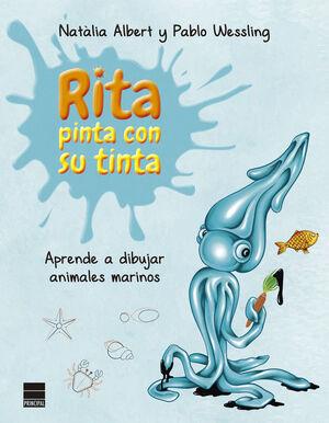 RITA PINTA CON SU TINTA. APRENDE A DIBUJAR ANIMALES MARINOS